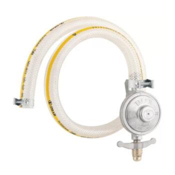 Regulador de Gás Registro com Mangueira 125cm para Fogão Baixa Pressão 1Kg Glp IMAR - OCP-0004