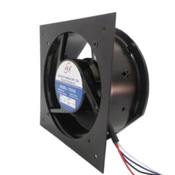 Microventilador Axial 17cm 172X159X51 Bivolts - ASA A171 Mine Fan FAN17251B Carcaça Metal - Diâmetro Circular 14cm