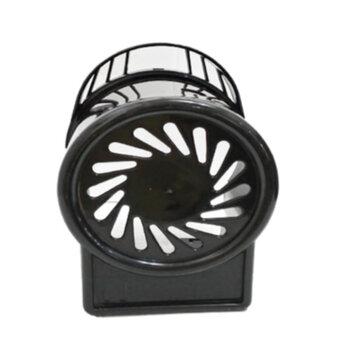 Capacete do Motor do Ventilador LOREN SID Turbo 50/60cm Modelo Turbo Coluna/Mesa/Parede - Capa Plastico Preta c/Alca.
