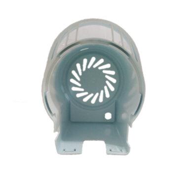 Capacete do Motor do Ventilador LOREN SID Turbo 50/60cm Modelo Turbo Coluna/Mesa/Parede - Capa Plastico Branca