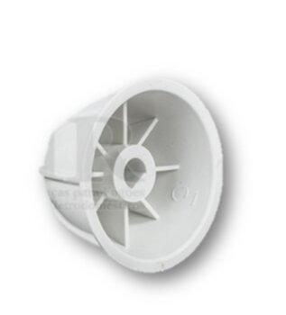 Carambola para Espremedor de Frutas FAK 3/8 Polegadas - Encaixe 12mm Tipo Sextavado - Uso Laranja - Carambola CEMAF - Carambola SPOLU / SPOLO