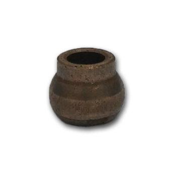 Bucha para Eixo Ventilador Britânia Nova - Bucha de Bronze com Pescoço 8,0mm para Ventilador Importado - Bucha p/Eixo 8,0mm