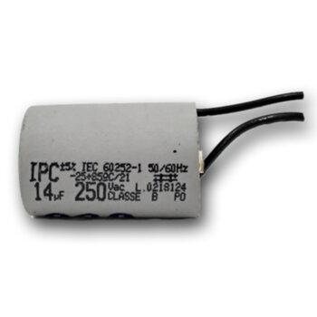 Capacitor para Exaustor LOREN SID 60cm 127v 14uF 2Fios 250VAC - Capacitor para Controle Remoto Ventilador de Teto Aliseu Terral c/Chave Controle Rotat