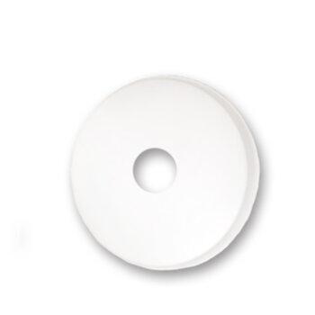Canopla Superior para Ventilador de Teto Venti-Delta Efyx Lunik - Plástica Branca