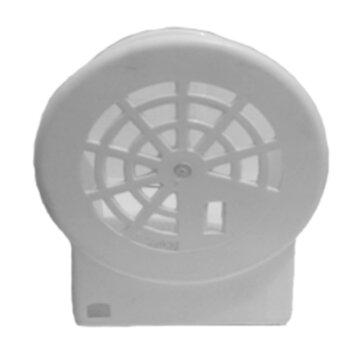 Capacete Ventilador ARGE MAX A-10 - Capa do Motor Ventilador Arge A-10 - Branco Atual - Capa do Ventilador Arge