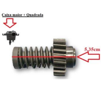 Engrenagem com Rosca Sem Fim para Caixa de Engrenagens do Ventilador TRON 50/60cm - p/Caixa Antiga Maior + Quadrada