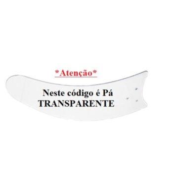 Pá Hélice para Ventilador de Teto Tron Aura Búzios Max Clean Chanceler Euro Itaparica Max Solano - Plástica Facão Transparente - Vendida p/Unidade