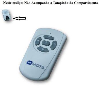 Módulo Transmissor do Controle Remoto Ventilador Volare 127V GMOTIL - *Apenas o Módulo Transmissor* - SEM Bateria/Pilha - SEM Tampa da Bateria