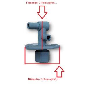 Registro da Água para Climatizador Joape Bob - Joape Angra - Joape Ipanema - Registro Menor