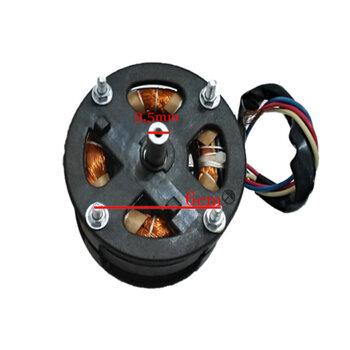 Motor para Climatizador Ebone FOG1 / FOG2 / FOG3 - Lado do Disco 127V 80/130W 2Polos - Motor Loren Sid - Serve p/Climatizadores Delta-Brisa