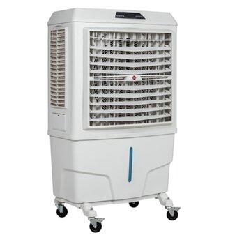 Climatizador de Ar Evaporativo Portátil 100Litros 127v350w Vazão Real 9.000m3/h - p/Área Áte 90m2 - Painel Digital Controle 3Velocidades - MWM M9000