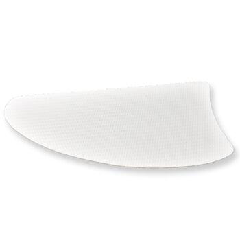 Pá Hélice para Ventilador de Teto - Modelo Facão Iris Material MDF Ratan Branca - Sem Furação Serve p/Várias Marcas - *Vendida p/Unidade