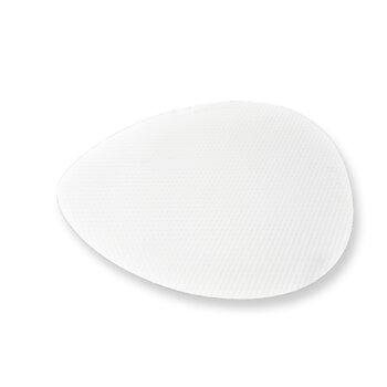 Pá Hélice Ventilador de Teto Madeira Ratan Focus Branca - SEM FUROS - Serve p/Vários Ventiladores -