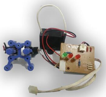Placa de Comando com circuitos do Umidificador Hidromel Bivolts.