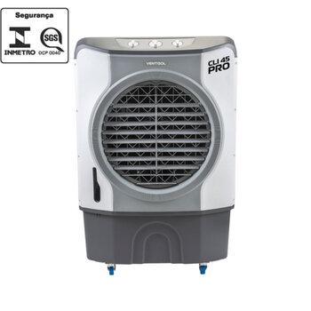 Climatizador de Ar Evaporativo Portátil 45Litros 127v 210w Vazão de Ar 4.500m3h Climatizador Evaporativo Ventisol CLIPRO45 - CLI45PRO-01