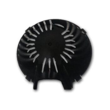 Capa do Motor do Ventilador Mondial V45 NVT 8P NV75 6P 40cm - Capacete Plástico Preto