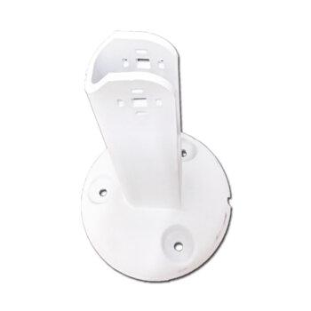 Suporte Para Ventilador de Parede Loren Sid - Plástico Branco - Suporte Parede Inj.Turbos BR - Modelos de 30 40 50 e 60cm