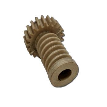 Engrenagem COM Rosca sem Fim para Ventilador Loren Sid - Turbo Osc. Anteriores - Mesa, Coluna, Parede e Orbital de 30/40/50/60cm - Medida Total 4,30mm