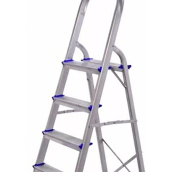 Escada de Alumínio 04 Degraus Doméstica - Real Escadas de Alumínio Residencial