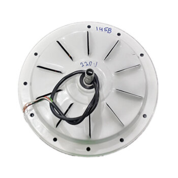 Motor do Ventilador de Teto Volare Ventax10 220V 120W 3 Velocidades - Branco - Usar c/Capacitor de 3,0uF
