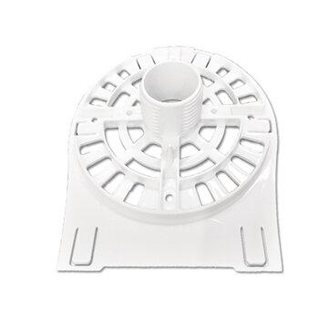Tampa Dianteira do Ventilador Ventisol 50/60cm Branco - MX - Sem Pino - com Anel Frontal - Plástica