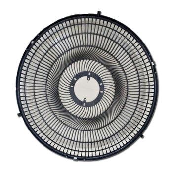 Grade para Ventilador Venti-Delta New Light 50cm - Grade Plástica Preta - Ventilador Coluna/Mesa ou Parede - Serve p/Dianteira ou Traseira - Vendida p