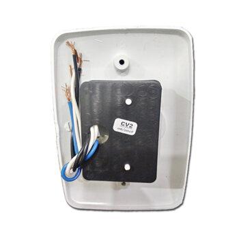 Chave para Ventilador de Teto Arge 220v Branca CV-2 - Dimer Rotativo 0200w 220Volts c/Teclas Liga/Desliga/Reverte + Tecla p/01-Lâmpada