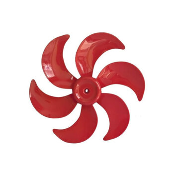Hélice para Ventilador MONDIAL 40cm 6Pás Vermelha HELVOMONDIAL HEL40 HELMONDIAL