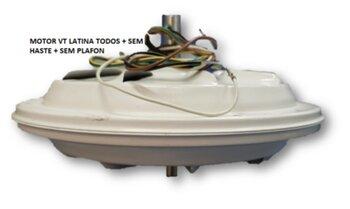 Motor do Ventilador de Teto Latina 127v130w 07,5uF - Sem Haste Sem Plafon - Motor p/Ventiladores Air Control Lumen VT633 VT673 - * Apenas o Motor Fech
