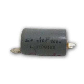 Capacitor para Ventilador de Teto Loren Sid Orbital 220Volts - Capacitor 02,0uF 300VAC 3/4 Terminais/Polos - Capacitor para Ventilador Orbital CAP002,