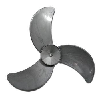 Hélice para Ventilador Loren Sid 60cm 3Pás Prata - Ponta Redonda Encaixe 10,0mm c/Trava Traseira - Medida Real 530x31 Hélice para Ventilador Orbital36