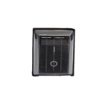 Chave Liga/Desliga Botão c/Capa de Silicone Retanguar 16A para Espremedor Vitalex Super Industrial de 2 ao 25Litros -  Modelo Atual 2020