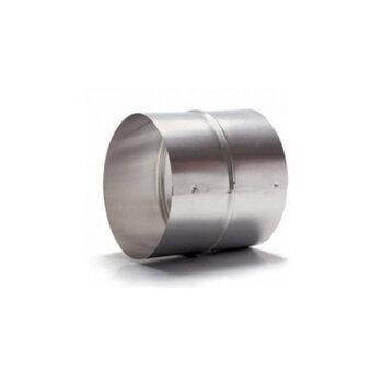 Colarinho para Emenda em Duto Flexível 150x150mm - Flange de Aço Galvanizado 15x15cm