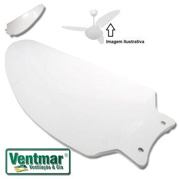 Pá Hélice para Ventilador de Teto Volare VENTAX VENTAX10 - Plástica Modelo Iris Branca - Pá Hélice para Ventilador Volare - Vendida p/Unidade