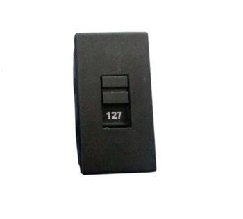 Chave Seletora de Tensão 127/220v 4 Polos - Chave Seletora de Voltagem - Para em Ventilador de Parede Chavinha HH201 *VALOR UNITÁRIO*
