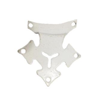 Garra Suporte de Pá Ventilador Venti-Delta - Vendida p/Unidade - Branca Pequena p/New Light - Furos 5,5cm