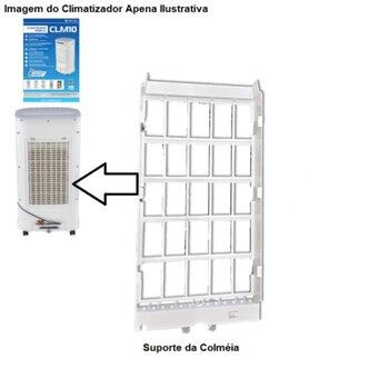 Suporte da Colmeia Painel Ttraseiro Climatizador Ventisol Nobille CLM-10 - Suporte Moldura da Colméia do Climatizador Nobille CLM 10 Litros