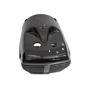 Capa do Motor Ventilador de Mesa Ventisol 30/40/50 cm - Capacete Preto