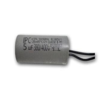 Capacitor para Ventilador de Teto Ventisol 127V 05,0uF 2Fios - Capacitor para Climatizador Ventisol 220V - Capacitor para Exaustor Venti-Delta 30cm 12