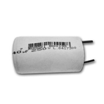 Capacitor de Partida Simples 2fios 40uf 250VAC CAP040,0