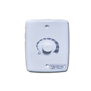 Chave para Ventilador - Controle de Velocidade Rotativo Dimer 1000Watts Bivolts - Espelho 4x2