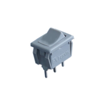 Tecla para Luz em Chave de Ventilador de Teto - Tecla CINZA para Ligar Desligar Luz/Lâmpada - Vendida p/Unidade