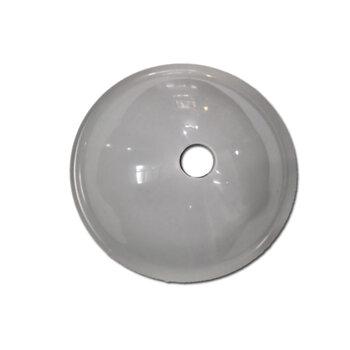 Canopla Plástica Superior para Ventilador de Teto Venti-Delta Cinza - Loren Sid - Arge - Tron - Etc - Diâmetro