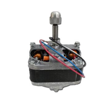 Motor para Ventilador AC VENT Eclipse Bivolt 1/30cv - Eixo c/Rosca p/Porca Frontal - Montar c/Helice Metal - Motoventilador Monofasico ACVent