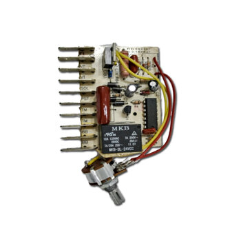 Placa de Comando do Climatizador Ecoclean Eco Clean Eco Mariz Eco Free 127v - Placa Circuitos com Dimer Rotativo com Clique c/Off