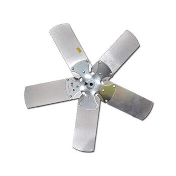 Helice para Exaustor LOREN SID 50cm 5Pas - Encaixe Eixo 11mm com Cubo e Parafuso Lateral