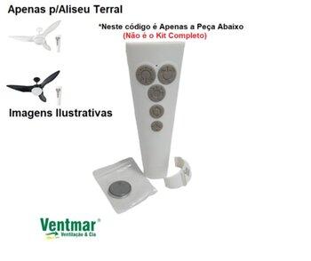 Módulo Transmissor do Controle Remoto Ventilador Aliseu TERRAL *Apenas o Módulo Transmissor Manual IC-55 Bivolts - Serve Somente p/Ventilador TERRAL*