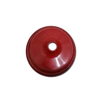 Canopla Plástica Superior para Ventilador de Teto ARGE - Cor VERMELHA