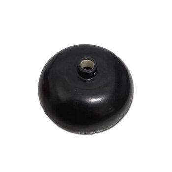 Canopla para Ventilador de Teto Superior - Material Alumínio - Cor Preto
