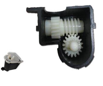 Caixa de Engrenagem para Ventilador Tron 50/60cm Atual - Caixa Padrão p/Loren Sid - Sem Pino Puxador - Caixa Atual Menor + Arredondada*